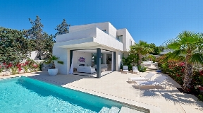 Beautiful and modern villa with great views in Ibiza -  Can Rimbau for sale