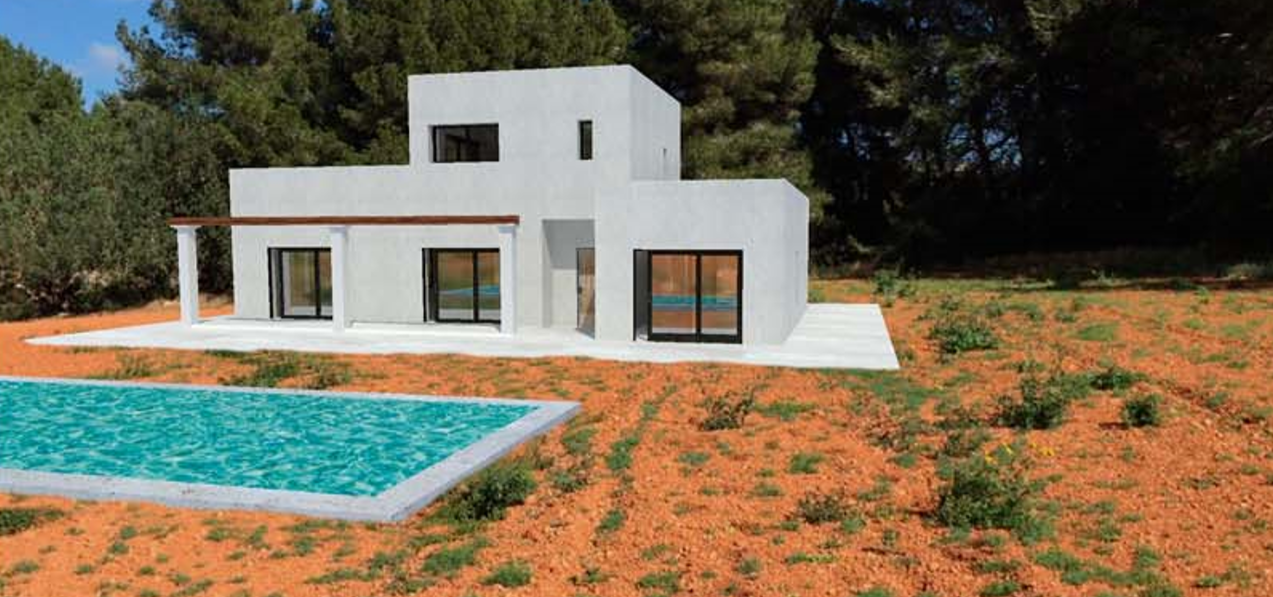 Rustic land with licence in San Juan - Ibiza with nice views
