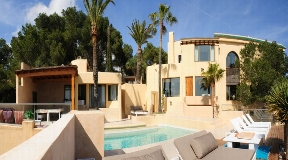 Luxury Moroccan style villa for sale on Ibiza Jesus
