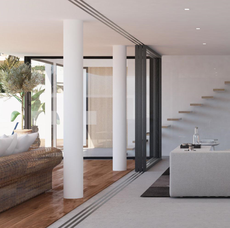 Brand new modern and beautiful build villa for sale in Ses Torres -Ibiza