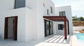 Newly built house in Jesus with private pool