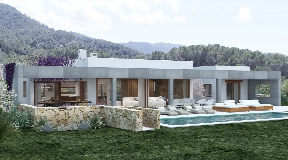 Very nice large land with project and licence for a luxury villa