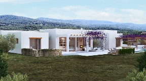 Very nice land with project and licence in Ibiza - Cala Conte