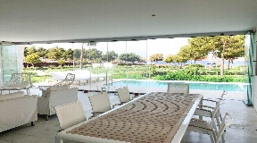 Luxury first line apartment for rent in Es Pouet