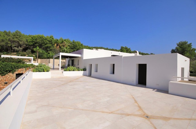 Very well located villa with best sea views near to Ibiza