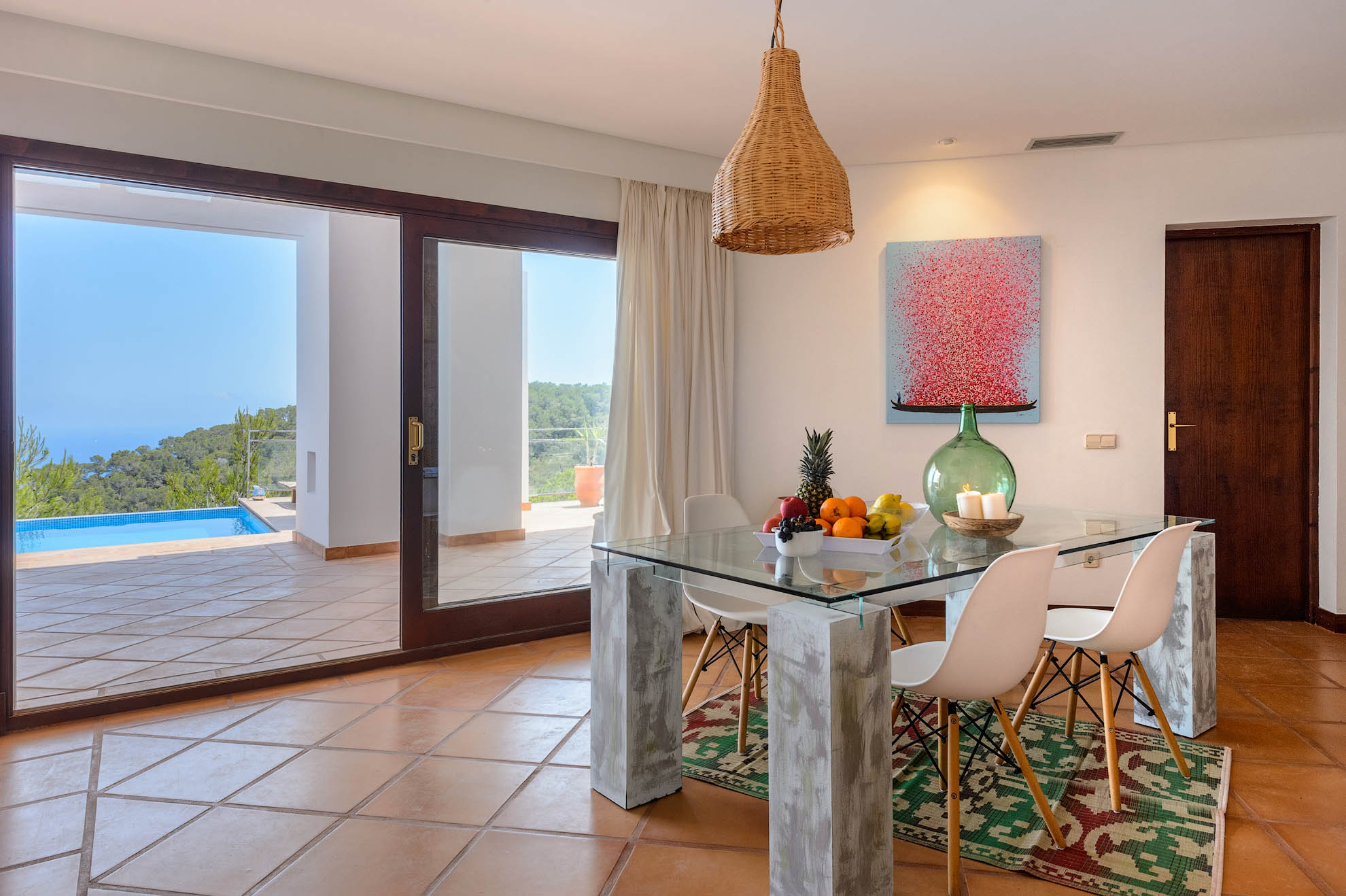 Amazing villa in Es Cubells with the best views on Ibiza