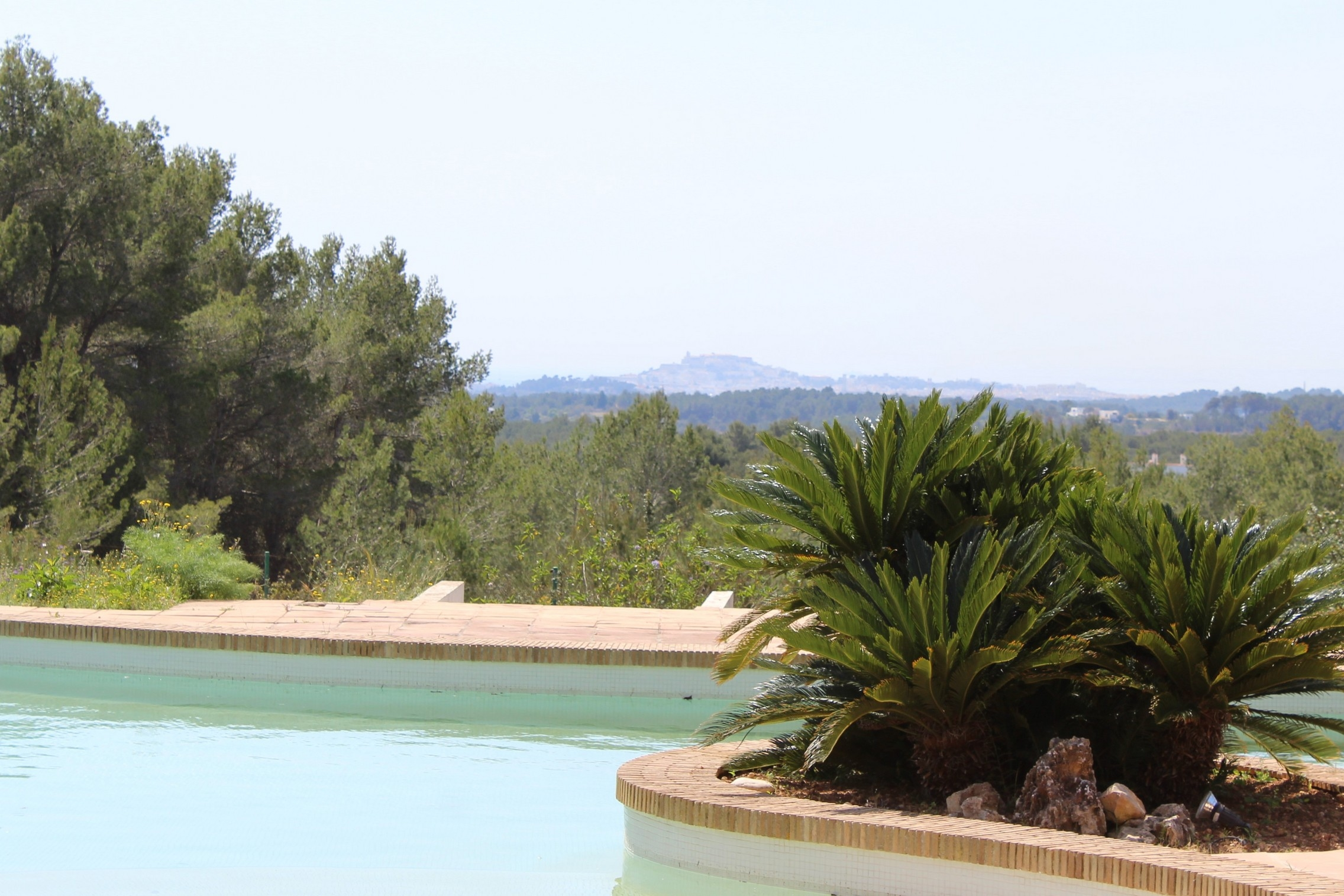 Large property with plenty land and privacy near Santa Eulaia