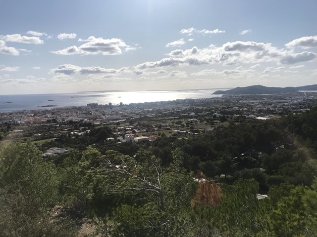 Development opportunity to build a villa with stunning views over the sea in Ibiza