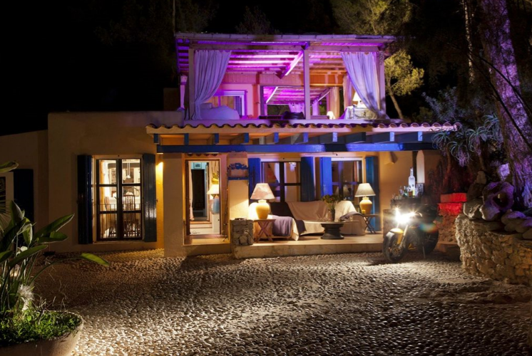 Villa is located within the Natural Park of Ses Salines Ibiza