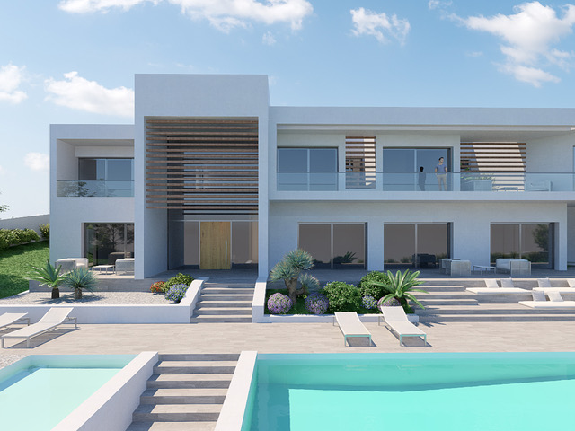 Plot with 1500 m2 and license for a house of 600 m2 in Ibiza