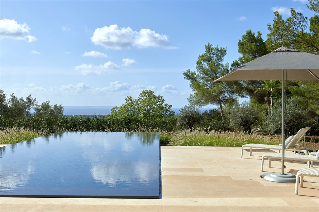 Modern villa with stunning sea views close to Es Cubells