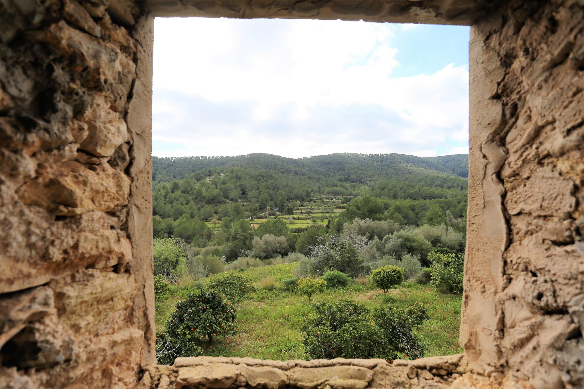 Special historic finca located in unique place with 350000m2 land