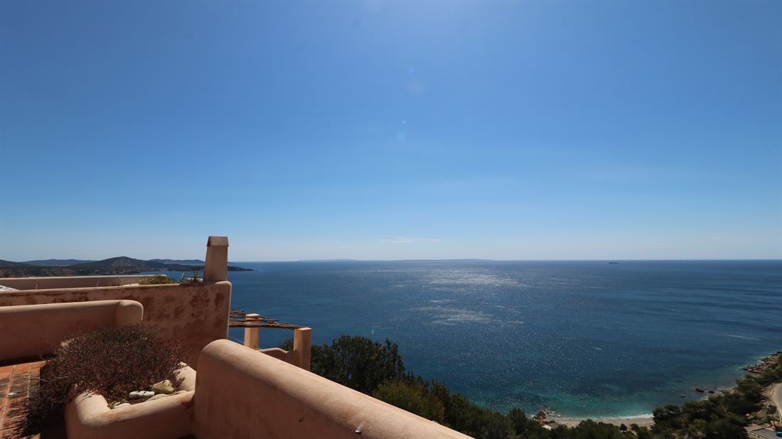Amazing house with fantastic views in Es Cubells for sale