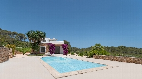 Dream villa in Ibiza with fantastic sea views for sale