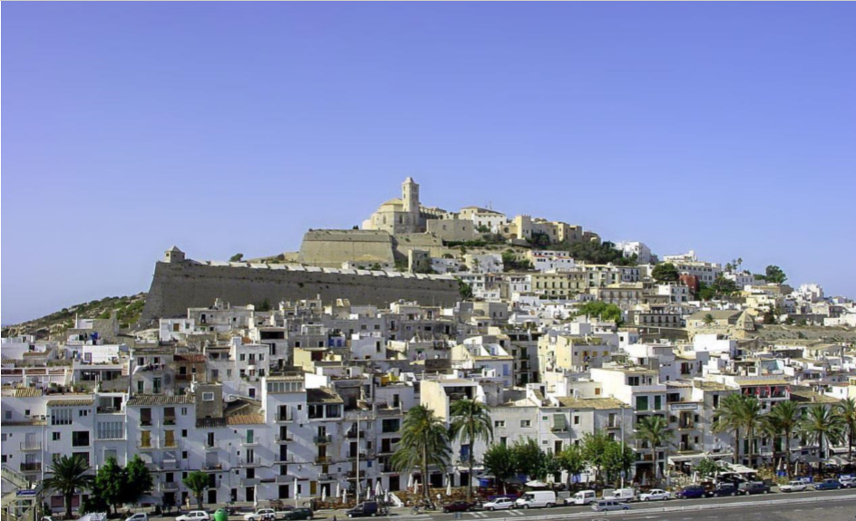 Large plot for a hotel frontline in Ibiza