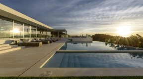 Modern luxury villa for sale in Cap Martinet