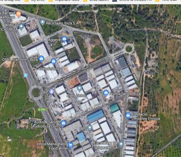 Industrial warehouse for sale in Ibiza with 750m2