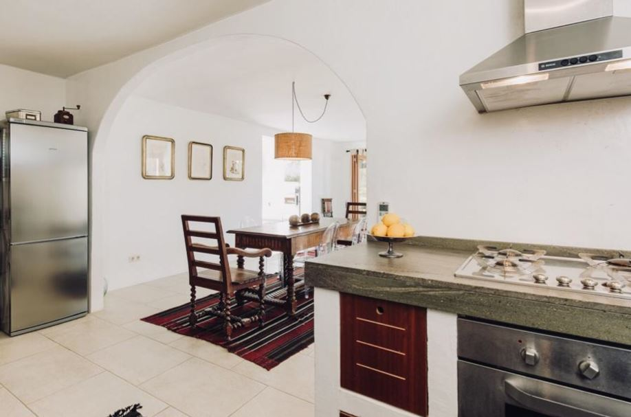 Beautiful house is located in Talamanca with amazing views 50 meters to the beach
