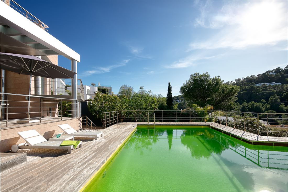 Fantastic modern Villas with beautiful views to the sea
