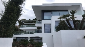 New built villa with fantastic views to Ibiza and Dalt Vila