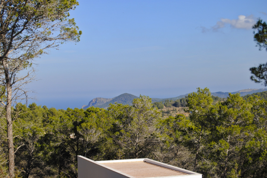 Four bedroom villa between San Miguel - Ibiza on a 25,000 m2 plot
