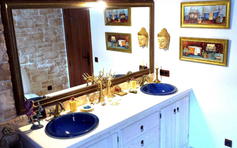 Cosy chalet at the edge of Santa Eulalia with exotic garden