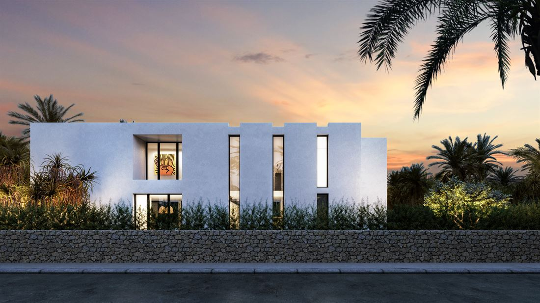 Land for sale in Talamanca with a project for a nice modern villas