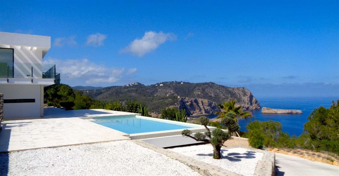 Modern luxury villa close to the famous Benirras beach for sale