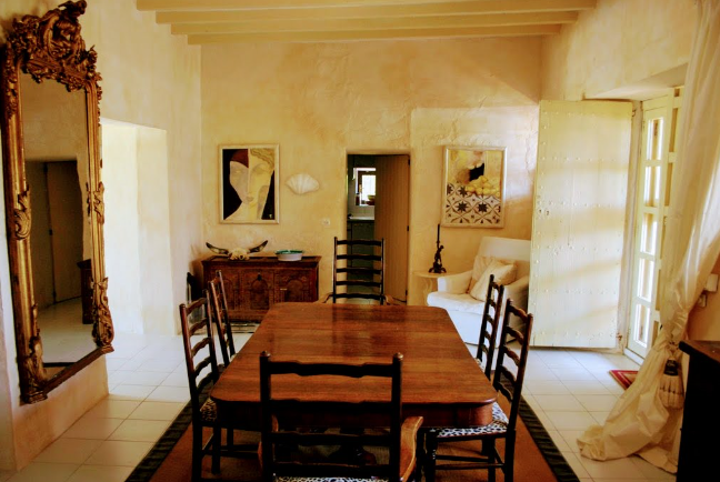 One of the oldest Ibizan house on the island with more than 300 years