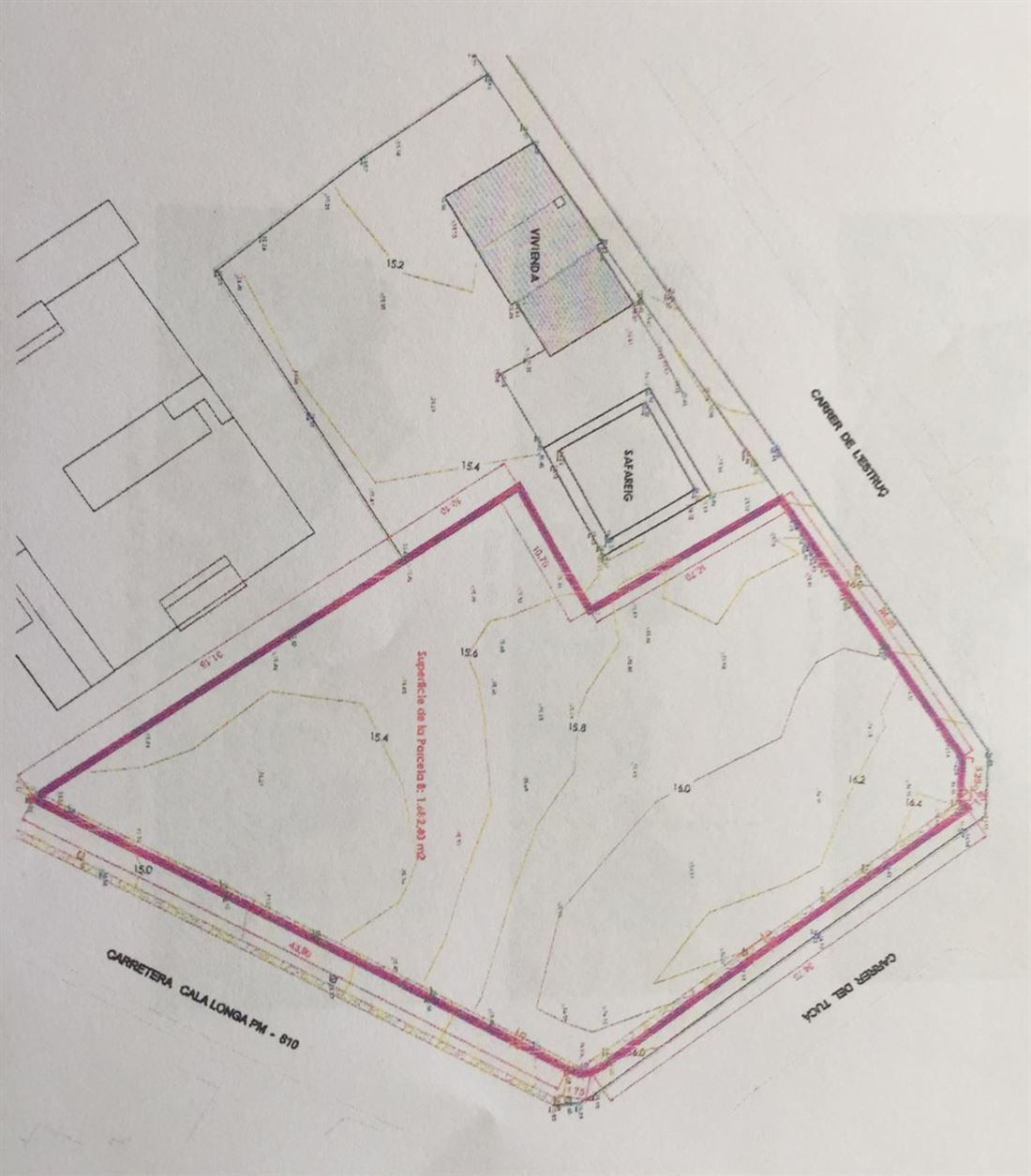 Plot for sale in Jesus - Ibiza for 14 Apartments