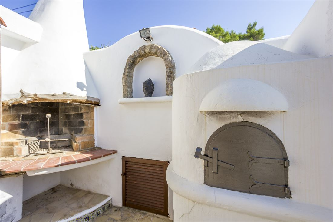 Large house for sale close to the beach of Es Figueral with sea views
