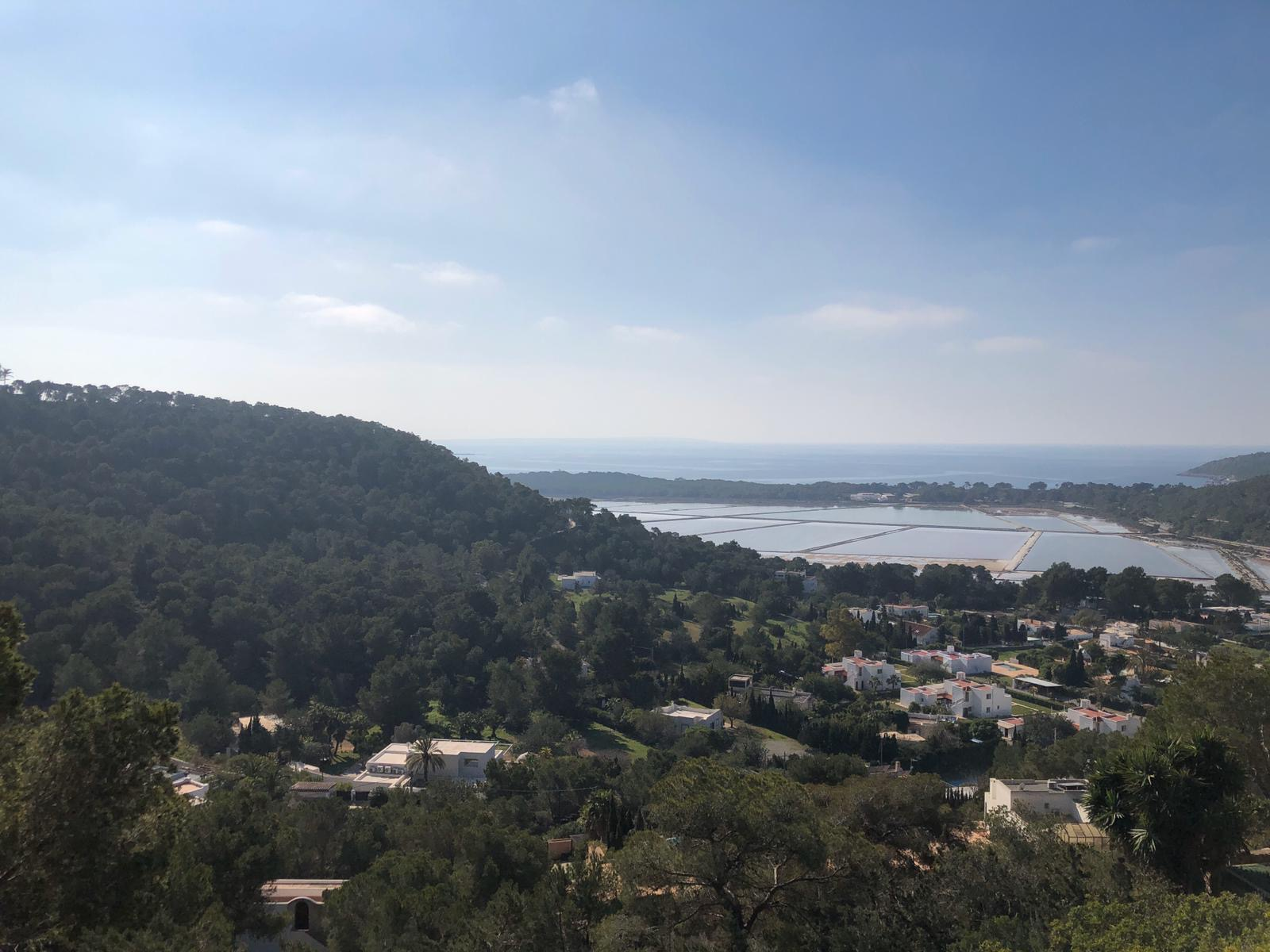 Land with license in the nature reserve Las Salinas de Ibiza