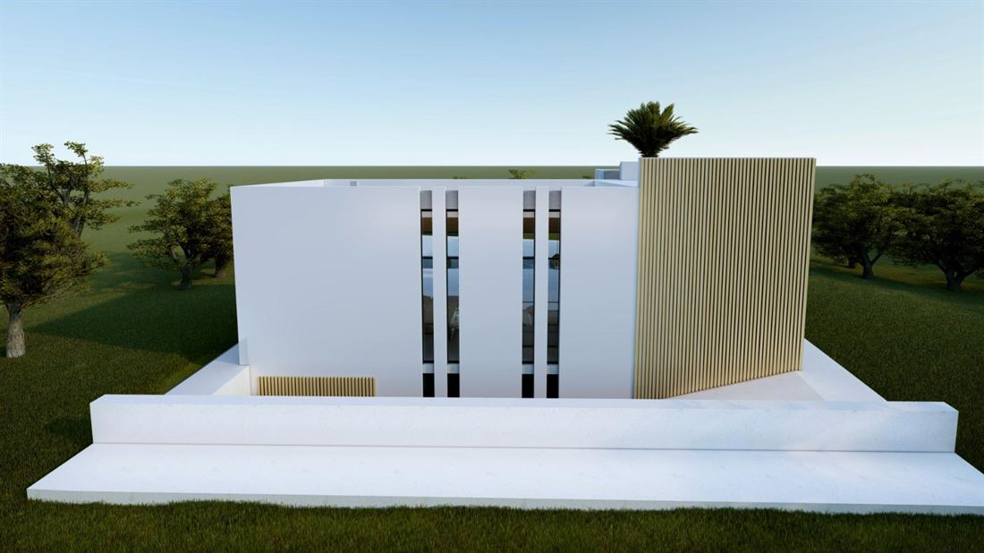 Urban plot with license and construction project in Sa Carroca
