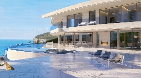 Spectacular property with sea view for sale