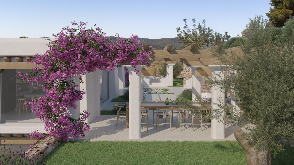 Blakstad finca with 189000 m2 land in the north of Ibiza