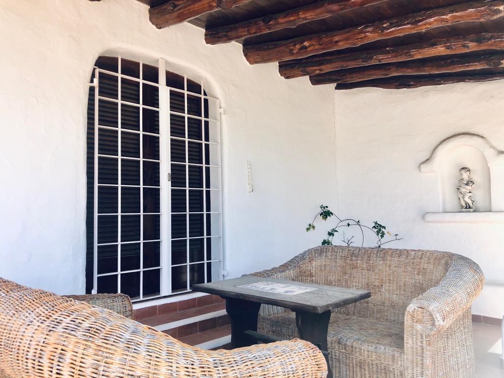Impressively beautiful and idyllic finca overlooking the sea Near Santa Eulalia Ibiza