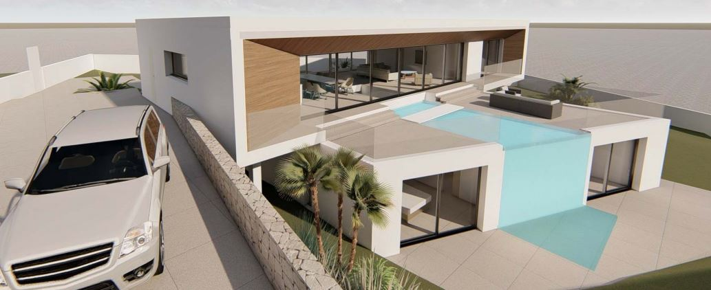 Plot with License in Vista Alegre on the south coast with sea views