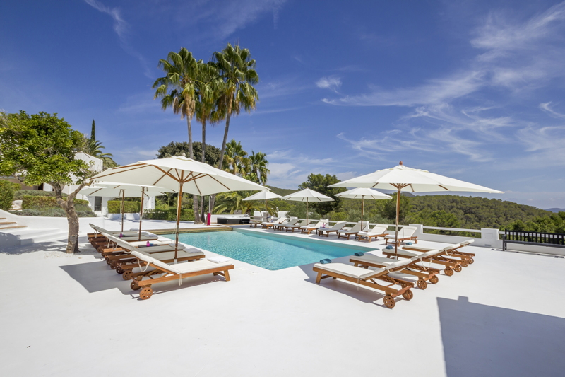 Luxury villa located in one of the best areas of Ibiza close to Cala Jondal