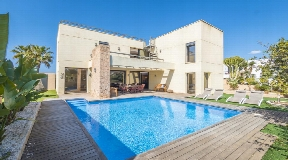 Villa near to the Port des Torrent Beach