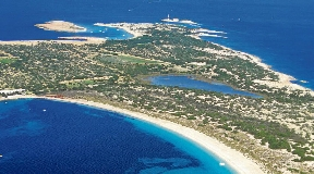 Impressive 38.000m2 Rustic Land for sale on the seafront in Formentera