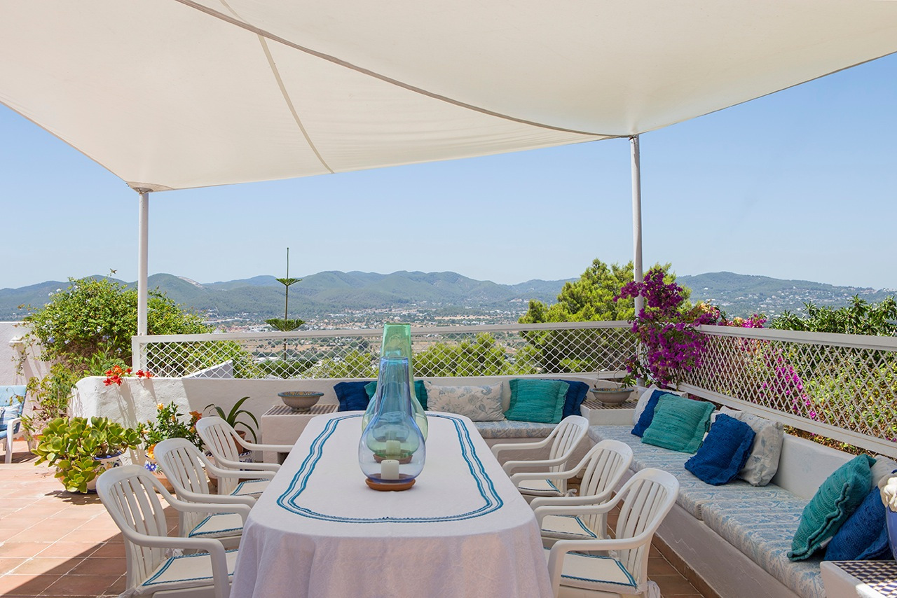 Beautiful villa located in one of the most exclusive residential of Ibiza