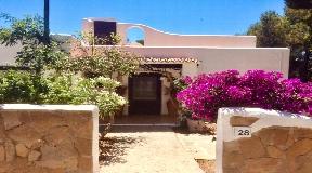 Spacious rustic villa with pool and garage near Santa Eulalia