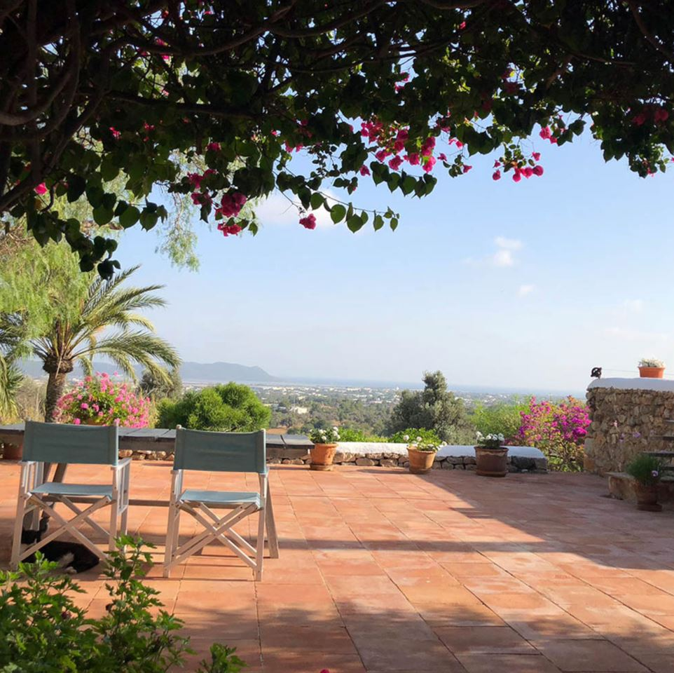 Charming authentic old farmhouse with stunning views near Ibiza