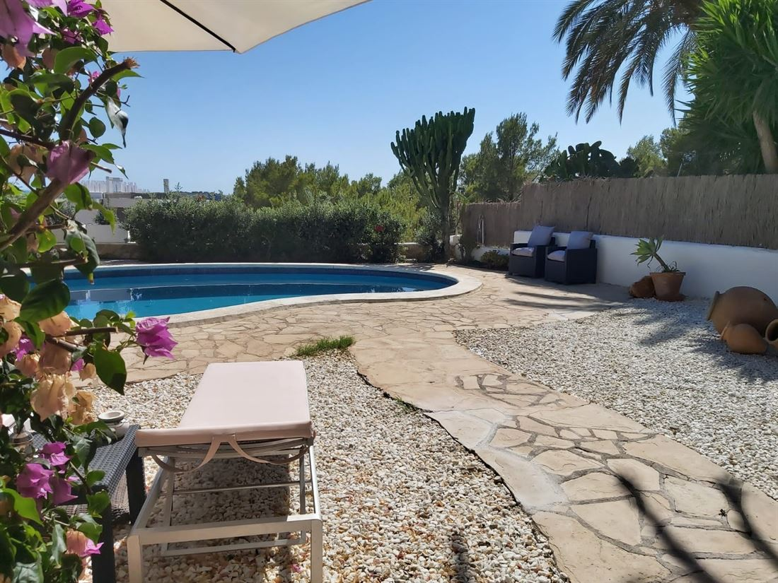 House with views to Formentera and Dalt Vila in Can Pep Simo