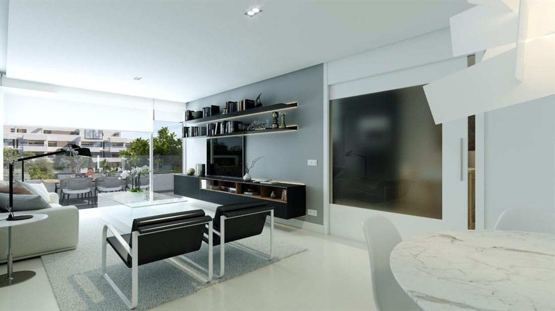 Newly built apartment in luxurious complex for sale