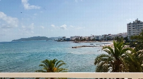 Superb frontline apartment for sale in Ibiza
