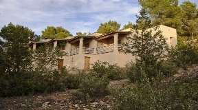 Great House in the nature near Jesus with a view to Dalt Vila
