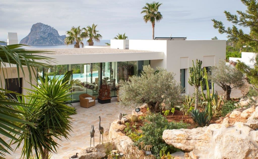 A stunning villa with unique views to Es Vedra in Ibiza