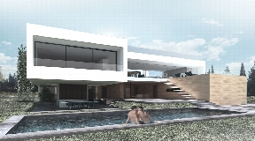 Modern Villa in Cap martinet with beautiful views of the sea and Formentera