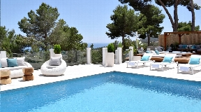 Nice property in a private area in the hill of Es Cubells - Ibiza for sale
